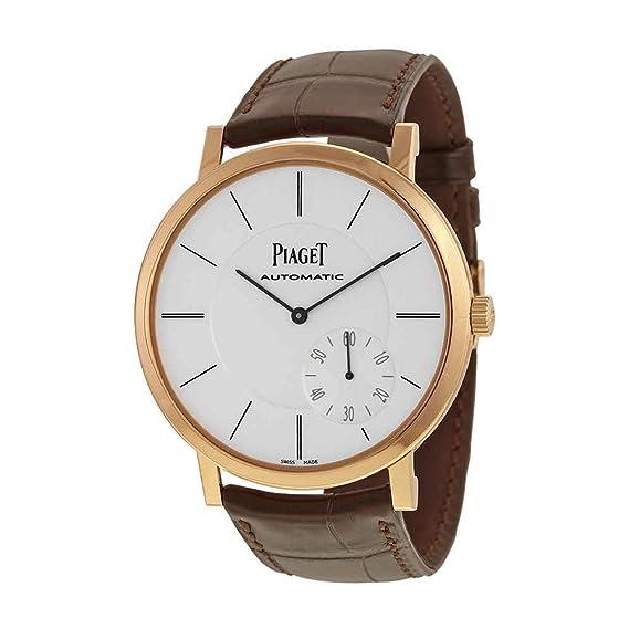 Piaget Altiplano Reloj de hombre automático 43mm color marrón G0A35131: Amazon.es: Relojes