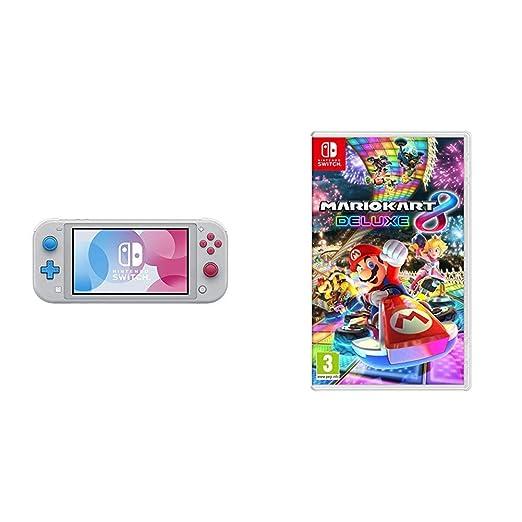 Nintendo Switch Lite Zacian And Zamazenta Edition Mario