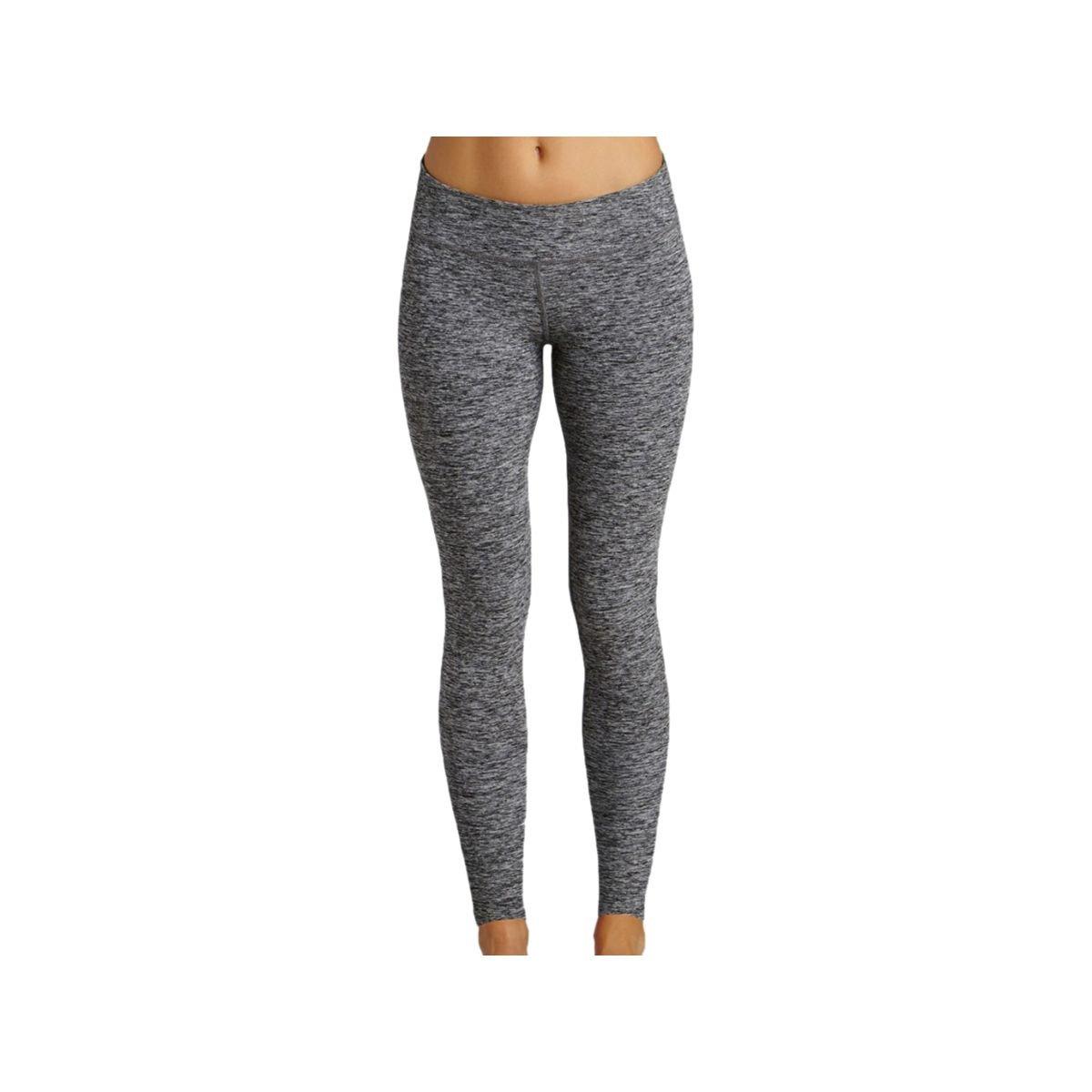c96e78cacfbab Beyond Yoga Women's Spacedye Long Essential Leggings, Black Space Dye, XS  (US 2-4) X 28 at Amazon Women's Clothing store: