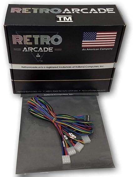 Amazon.com: RetroArcade.us ra-Wire-Harness-tb2 Jamma trackball Interface Wiring  Harness for 3 trackball for 138-in-1, 276-in-1, 352-in-1, 412-in-1 pcbs:  Toys & GamesAmazon.com