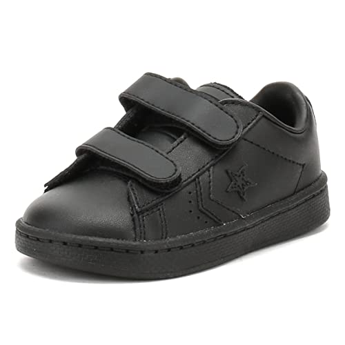 28ea1af13151fc Converse PL 2V OX Infant Trainers Boys Black - 5 Toddler - Low top Trainers