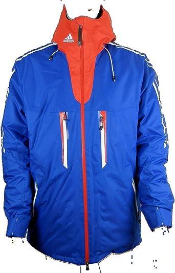 adidas Blouson Veste d'hiver Homme Bleu Bleu XXXL