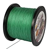 Goture SuperPower PE Braide Saltwater Fishing Line 4 Strands 547 Yard 12-65LB Advanced Superline Green Orange Grey Yellow White Blue Color