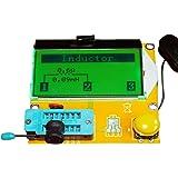 KKmoon Contraluz del LCD multifuncional Transistor Tester diodo triodo capacitancia medidor ESR MOS PNP NPN LCR