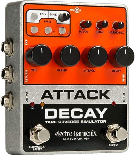 Electro Harmonix Attack Decay · Pedal guitarra eléctrica: Amazon ...