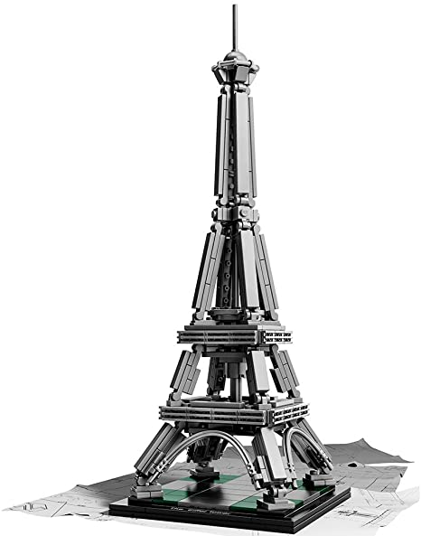 NEW SEALED LEGO 21019 ARCHITECTURE THE EIFFEL TOWER PARIS FRANCE 12 INCH TALL