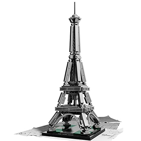 Amazon Lego Architecture 21019 The Eiffel Tower Toys Games