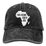 I Bless The Rains Down in Africa-1 Unisex Baseball Cap Cotton Denim Adjustable Golf Caps for Men Or Women