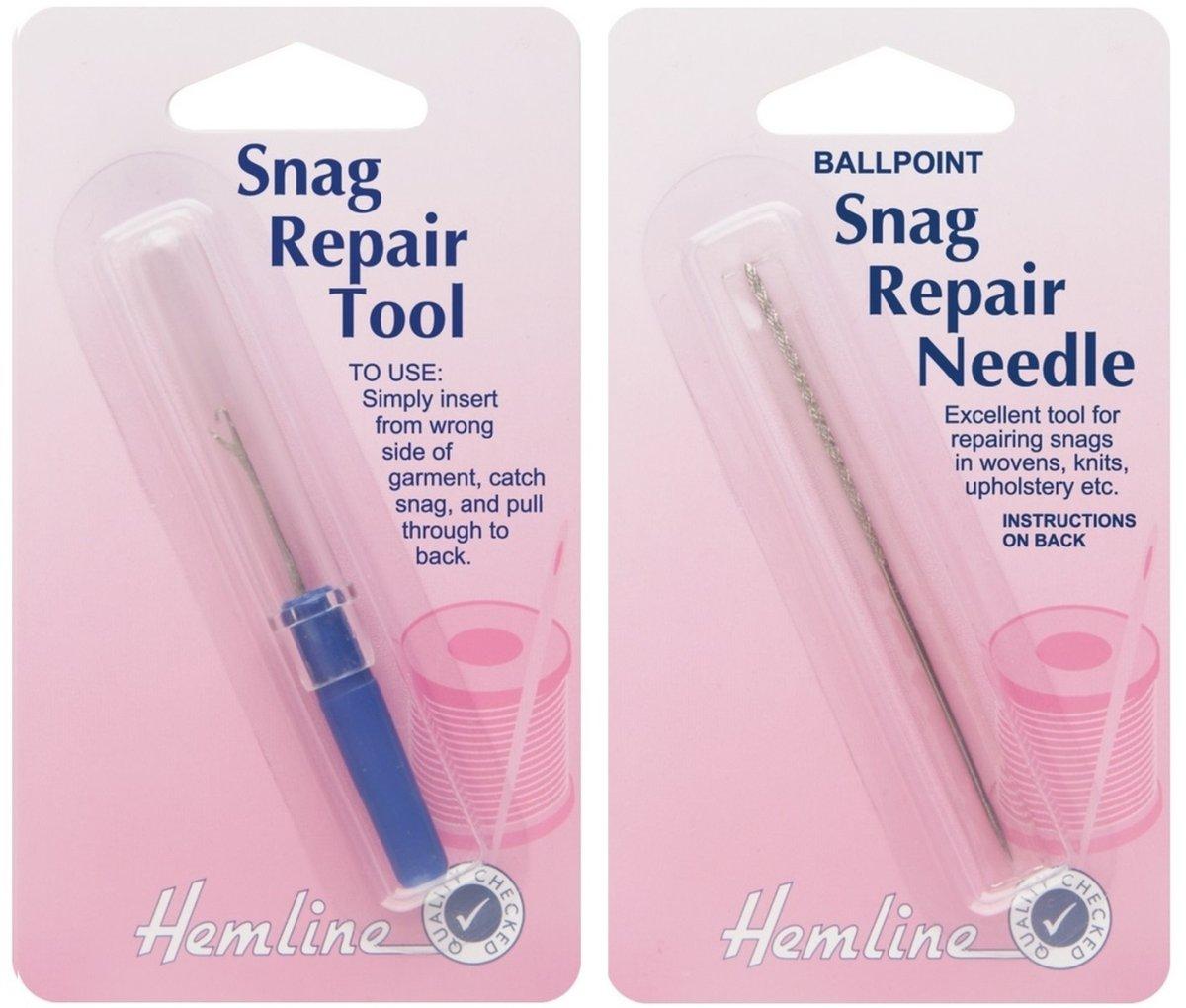 Hemline Snag Repair Tool for Woollens H248