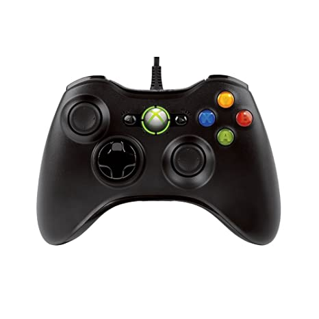 Buy Xbox 360 Wired Controller - Black Online at Low Prices