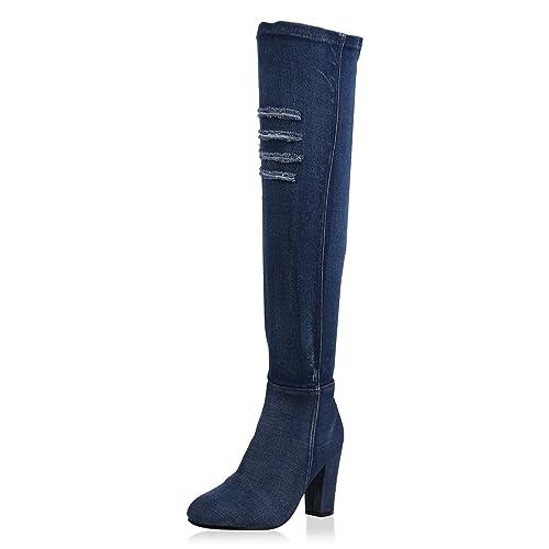 Napoli-Fashion - Botas Clásicas Mujer f394aefba2383