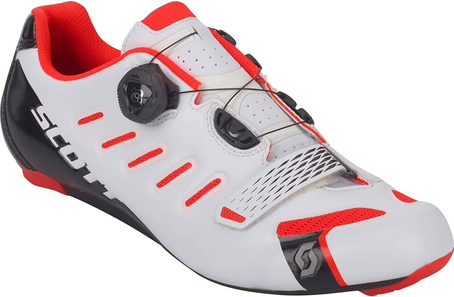 Scott Road Team Boa Hommes Chaussure Route (BlancRouge