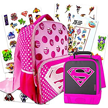 Amazon.com: DC Super Hero - Bolsa de almuerzo con ...