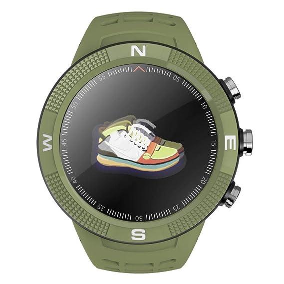 Amazon.com: sundengyuey 696 F18 Smart Watch 1.3in GPS ...