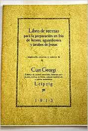 LIBRO DE RECETAS PARA LA PREPARACION EN FRIO DE LICORES