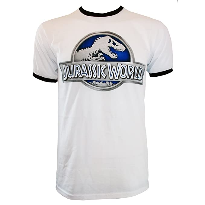 Jurassic World - Camiseta Blanco Blanco