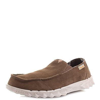 Hey Dude, Zapatillas deportivas para hombre Azul azul marrón Size: 41