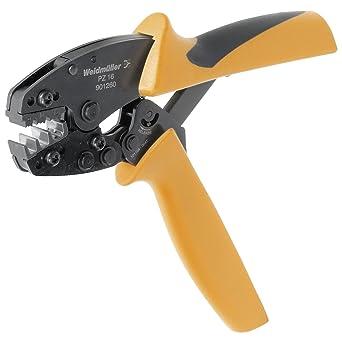 Weidmüller 7655150005 - Tenaza de crimpar, color negro y amarillo