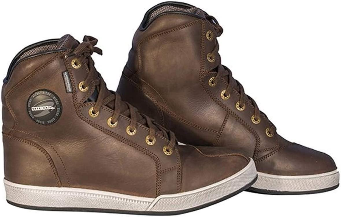 Richa Krazy Horse Motorcycle Boots Brown 44