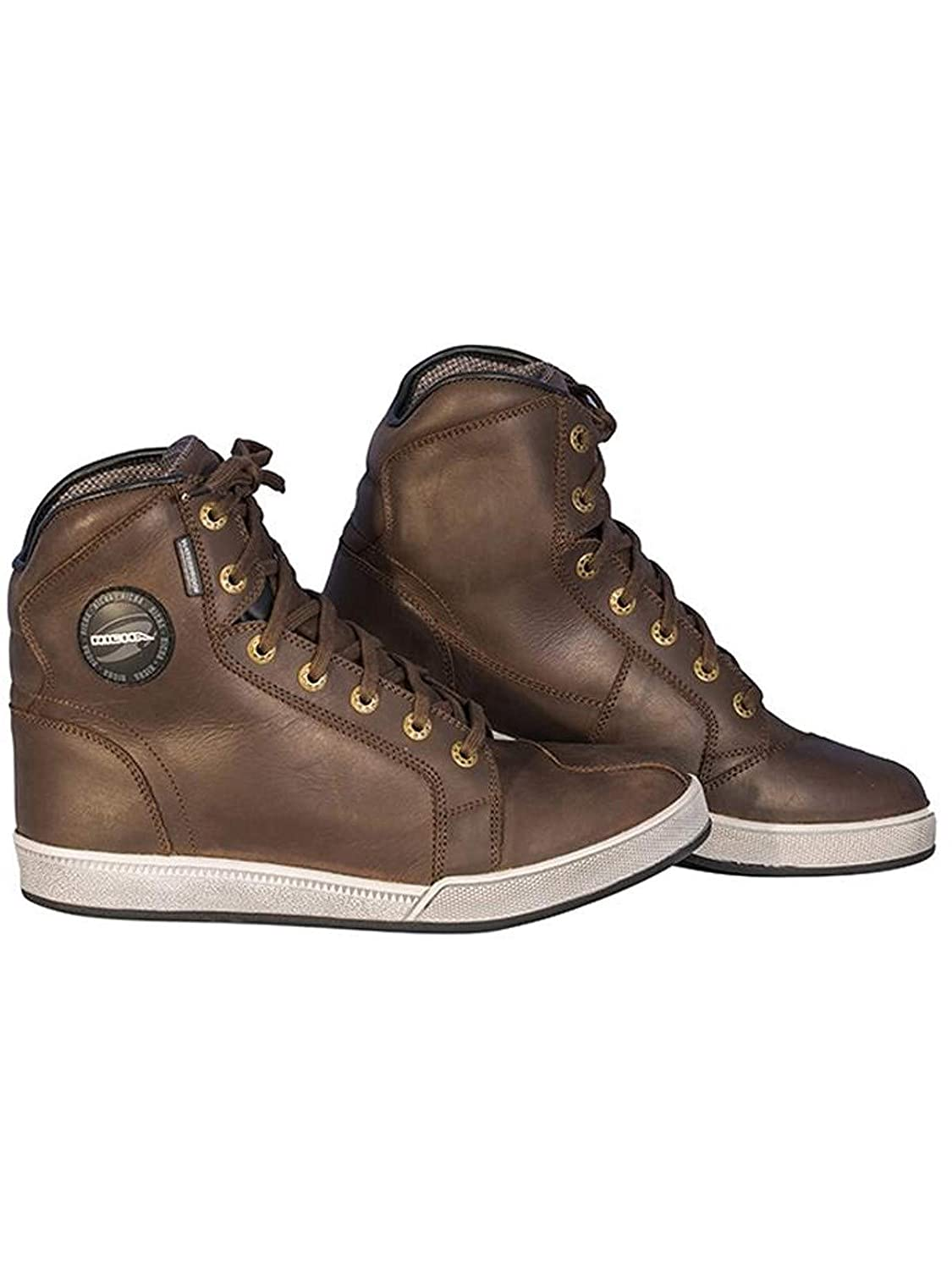 Richa Krazy Horse Motorcycle Boots Brown 47