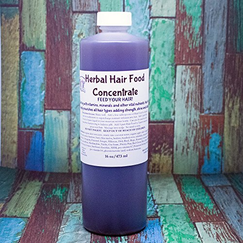 Herbal Vitamin Complex for Hair CONCENTRATE Nutrient dense with botanicals for stronger, healthier hair