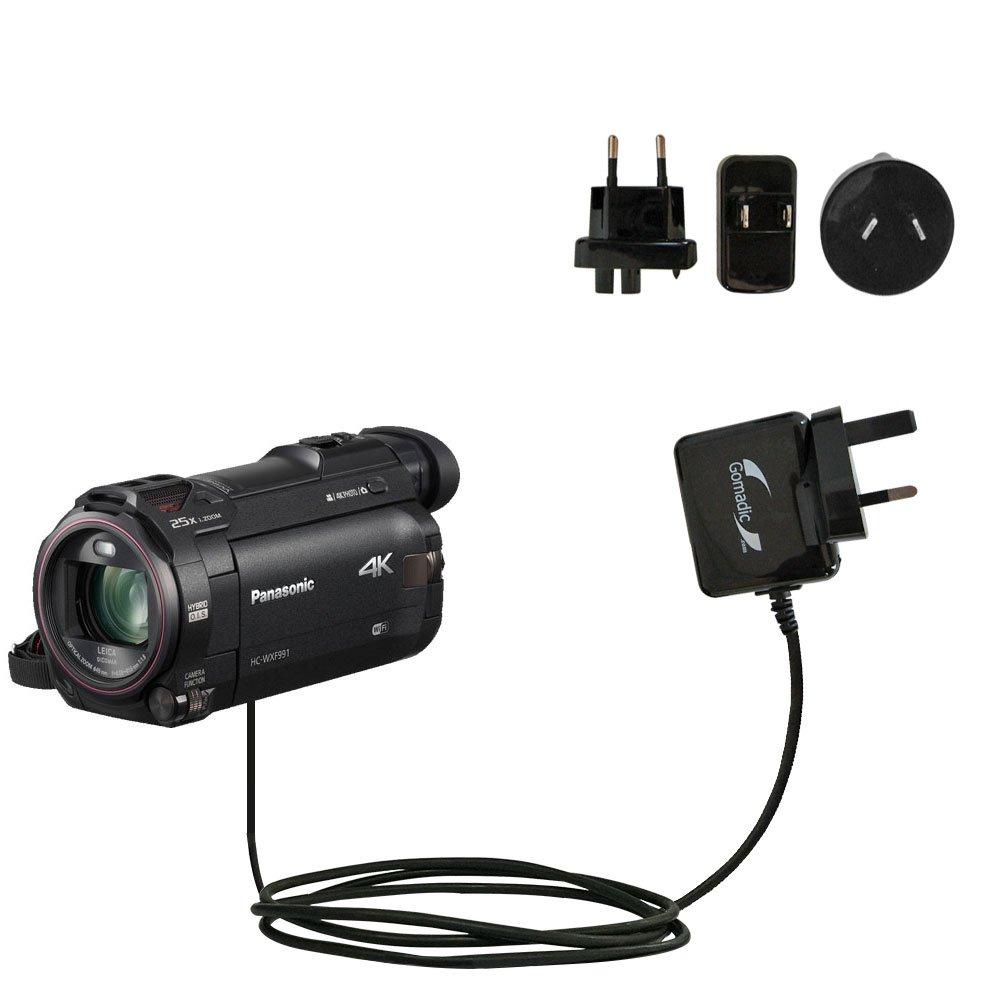 高度な国際壁AC 2 A充電器と互換性Panasonic hc-wxf991 – 強力な10 W充電、Built with GomadicブランドTipExchangeテクノロジー、for Worldwide Use B01NCWC8CX