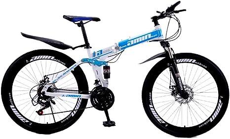 MUYU 26 Pulgadas Bikes Bicicleta Montaña,Velocidad 21(Velocidad 24 ...