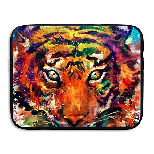 Tigers Small Football Rug (HYFii Camouflage Paint The Tiger Printed Two-sided Notebook Bag Computer Bags LAPTOP SLEEVE Computer/Laptop Sleeve 13/15 Inch)