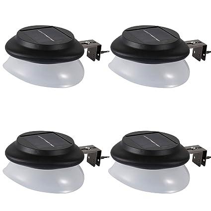 BOFEISI Solar LED Camino Luces Al Aire Libre Impermeable Sensor De Movimiento 9 Leds Lámpara De