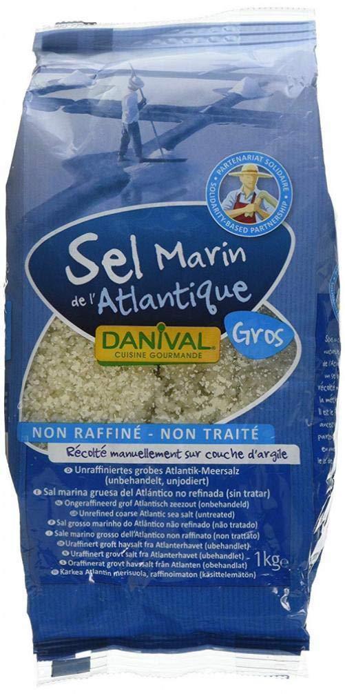 Danival | Coarse Sea Salt - Unrefined | 8 x 1kg Danival Sas