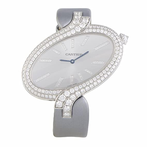 Cartier Delices De Cartier Cuarzo Mens Reloj wg800021 (Certificado) de Segunda Mano