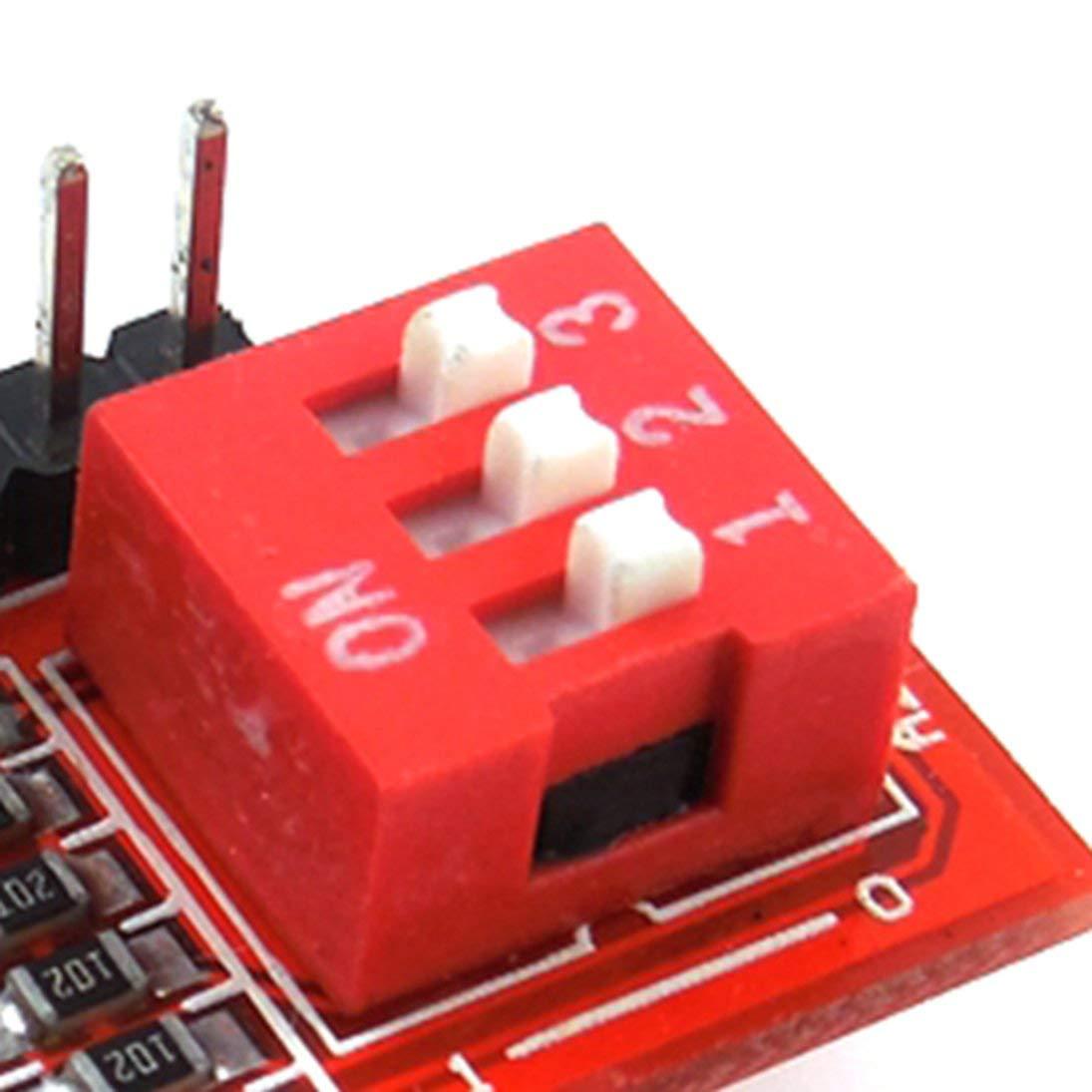 HW-400 M/ódulo de expansi/ón IO M/ódulo PCF8574T para Arduino ToGames-ES
