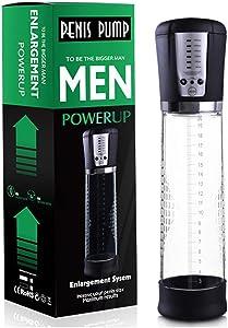 MCATCA Realistic Men Couple Effective PênīsPump Air Vacuum Pump Pênīsgrowth, Male Six Love Toy Pênīsextender Length Device for Men Couple Secret Delivery