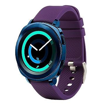 Bracelet de rechange Fit-power pour montre connectée - 20 mm Pour montres Samsung Gear