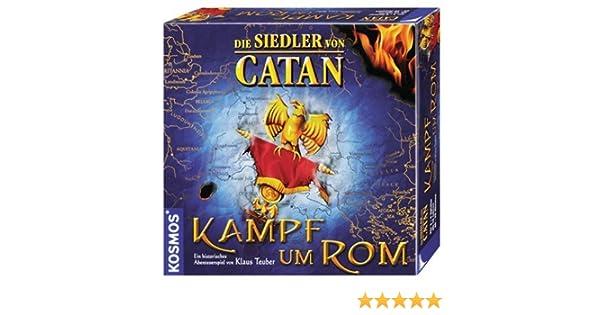 KOSMOS 690632 Die Siedler Von Catan: Kampf um ROM - Juego de Mesa (Contenido en alemán) [Importado de Alemania]: Amazon.es: Juguetes y juegos