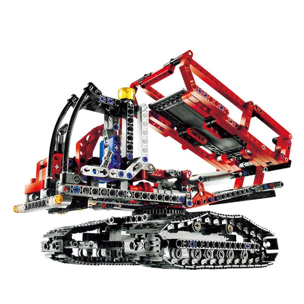 d8dab338e Promoción por tiempo limitado P1017 3D DIY Puzzle Bloques Bloques Bloques  de construcción Juguetes Carretilla elevadora de ingeniería, Kits de  edificio ...