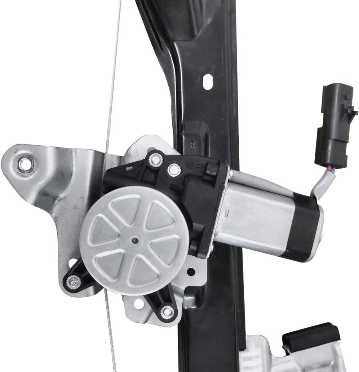 A-Premium Power Window Regulator with Motor Compatible with Buick Encore Chevrolet Trax 2013-2017 Front Passenger Side
