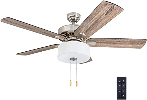 Prominence Home 50767-01 Canyon Lakes Farmhouse Ceiling Fan 3 Speed Remote