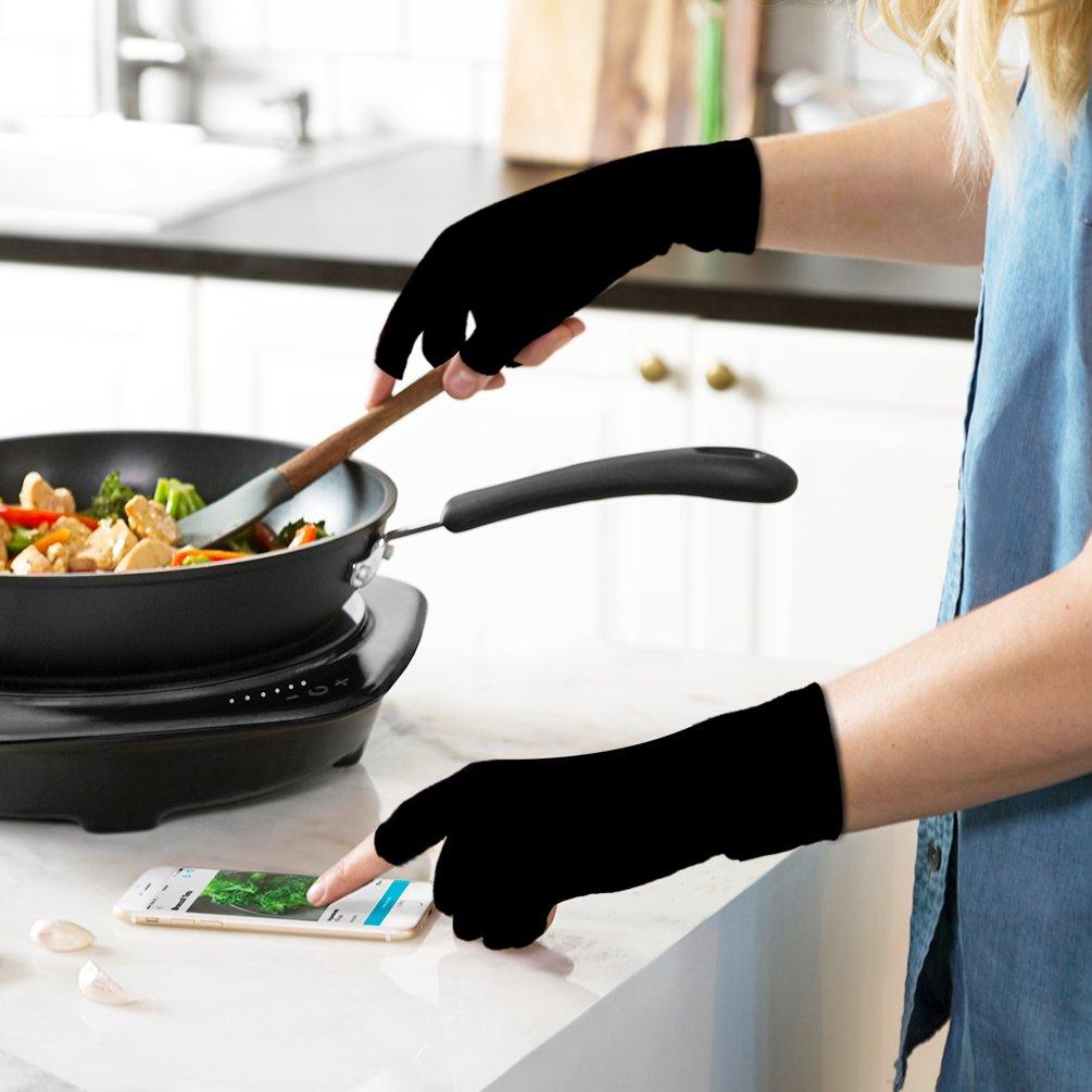 lila, XL Compression Handschuhe f/¨/¹r Rheumatoide /& Osteoarthritis Duerer Arthritis Handschuhe M?nner und Frauen Handschuhe bieten arthritische Gelenkschmerzen Linderung der Symptome