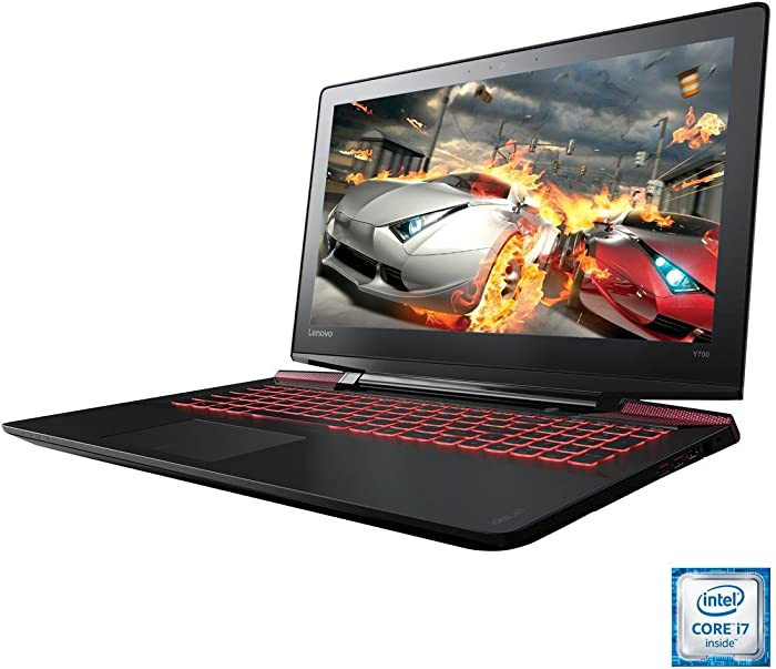 Lenovo Y700 - 15.6 FHD Gaming Laptop (Intel Quad Core i7-6700HQ, 16 GB RAM, 1TB HDD + 256GB SSD, GTX 960M) 80NV00W4US