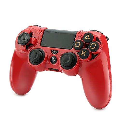 2 opinioni per Pelle Cover Skin per PS4 Controller Skin Custodia Protettiva per Sony