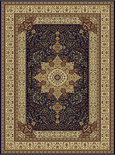 Large Luxury Silk Traditional Rug For Living Room Navy Red Cream Green Beige Colors Rug 8x12 Rugs Afghan Rug Area Rugs 8x11 Silky Rugs - Afghans Blue