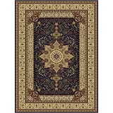 Large Luxury Silk Traditional Rug For Living Room Navy Red Cream Green Beige Colors Rug 8x12 Rugs Afghan Rug Area Rugs 8x11 Silky Rugs Clearance