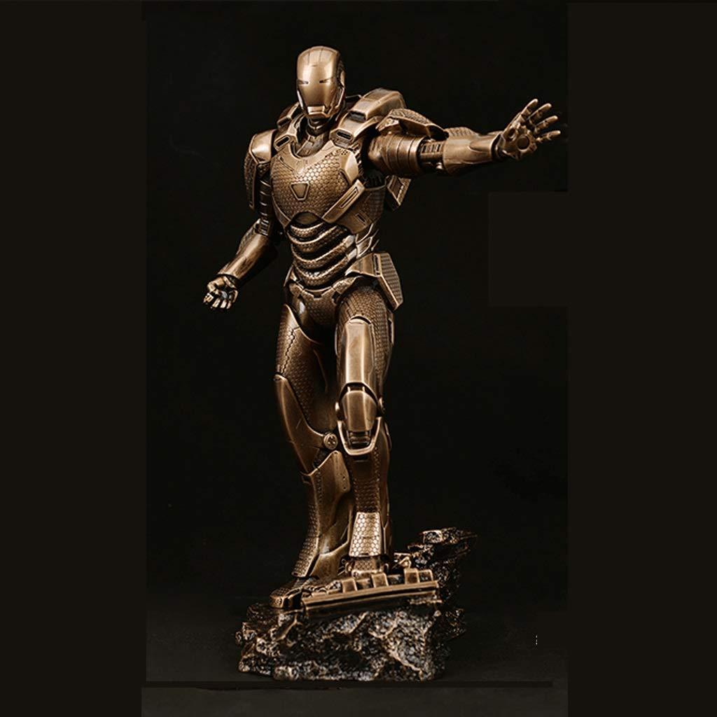 Reducción de precio KGMYGS Iron Man Qiu Zhe Alliance Iron Man Doll Modelo Estatua Anime Decoración Alto 30.5cm