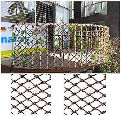 Malla de jardín YINUO Red de seguridad al aire libre Red de protección contra caídas for niños Red de jardín Adecuado for embellecimiento Balcón decorativo Escalera Barandilla Escalada Hamaca Aislamie: Amazon.es: Deportes