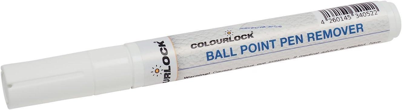 COLOURLOCK Removedor de manchas de bolígrafo | Elimina marcas biro | para interiores de coche de cuero, muebles, ropa, bolsos, zapatos y accesorios