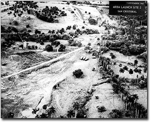 Cuban Missile Crisis Launch Site After 1962 8x10 Silver Halide Photo - Plane U2 Spy Pictures