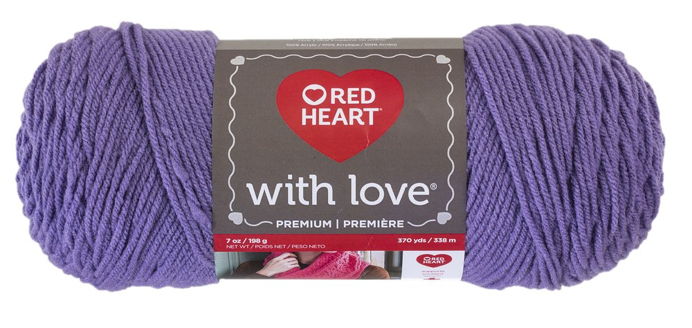 Red Heart E400PK.1001 With With Love 3 Pack White