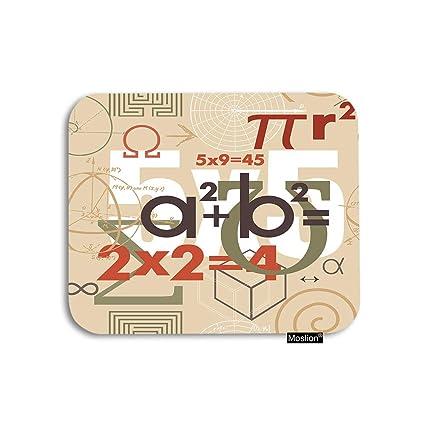 Amazon com : Moslion Math Mouse Pad Mathematical Formulas