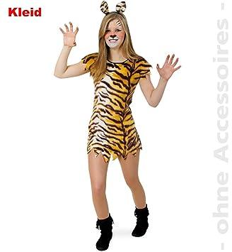 Fries Little Tisha Kleid Madchen Kostum Fasching Karneval Tiger